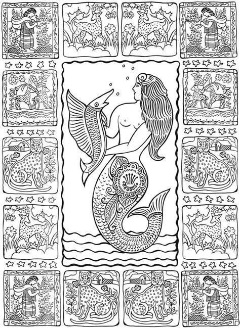coloring pages folk art mexican folk art doodles coloring pages pinterest