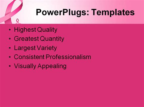The Gallery For Gt Breast Cancer Awareness Powerpoint Background Powerpoint Presentation On Breast Cancer Awareness