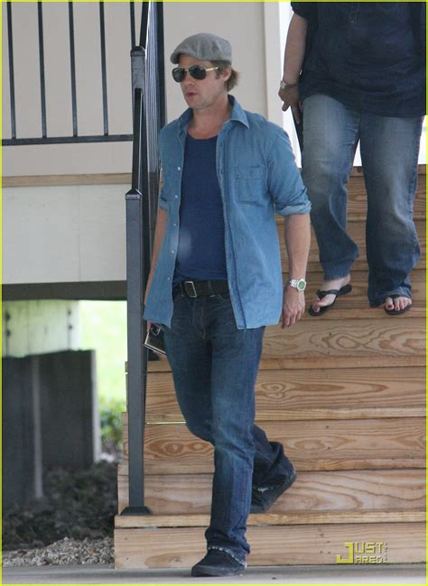 Background Check New Orleans Brad Pitt Checks Up On New Orleans Photo 2475877 Brad Pitt Pictures Just Jared