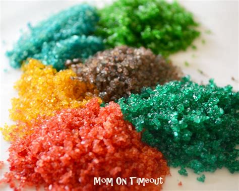 colored sugar crystals how to make your own colored sugar on timeout