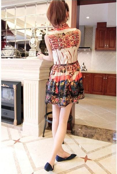 Dress Ethnic Dress Impor Dress Batik Dress Kerja dress import lengan buntung cantik model terbaru jual