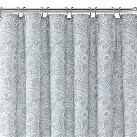 turquoise paisley curtains paisley shower curtain everything turquoise