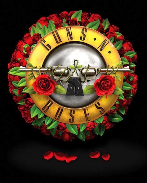 Guns N Roses Logo 2 guns n roses เตร ยมขายช อก หลาบเน องในว นวาเลนไทน