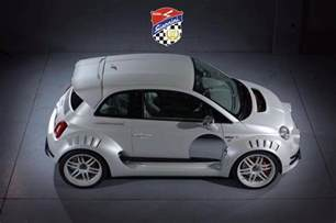 Fiat 500 Tuning Without Words Giannini 350 Gp Based On The Fiat 500