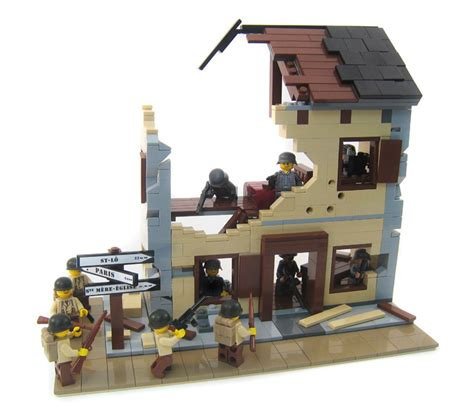 lego ww2 tutorial purchase custom lego instructions bombed out french building