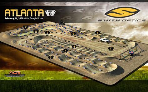 motocross race track 2009 supercross track maps racer x online