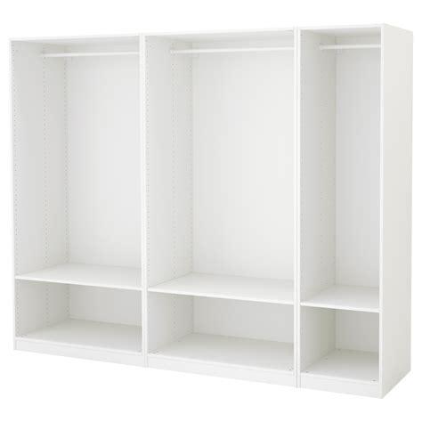 ikea fitted wardrobes pax pax wardrobe white 250x58x201 cm ikea