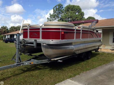used bennington pontoon boats in florida 2012 used bennington 22 ssl pontoon boat for sale