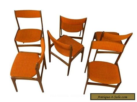 6 Dining Chairs For Sale 6 Teak Dining Chairs Mid Century Modern For Sale In United States
