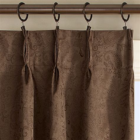 hanging curtains with rings how to hang pinch pleat curtains with clip rings