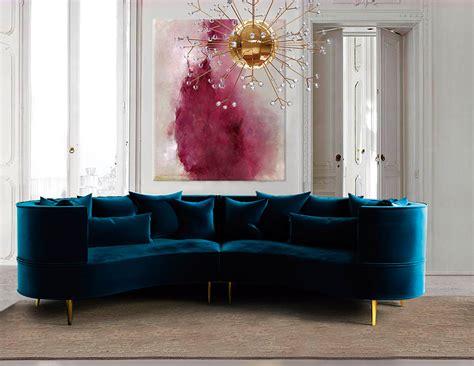 divano velluto divano in velluto tendenza arredo 2017 salotto perfetto