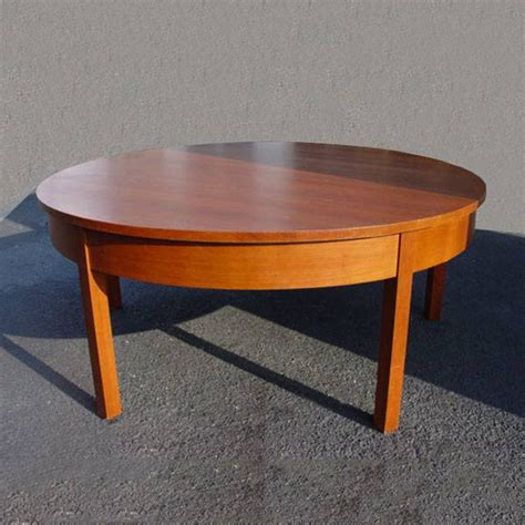 Vintage Dining Tables 6ft Vintage Mid Century Modern Solid Wood Dining Table Ebay