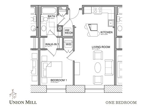 walk in closet floor plans floor plans the union mill