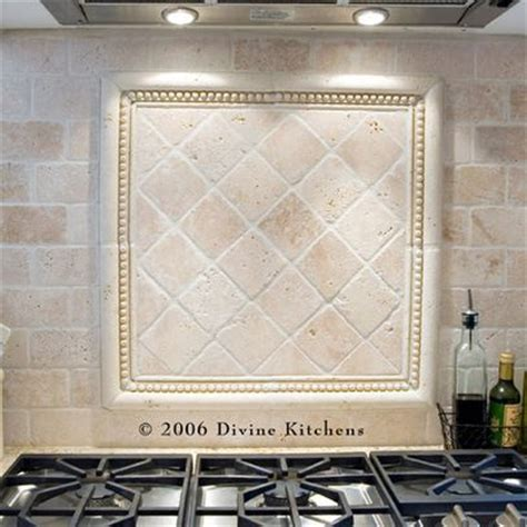 tumbled travertine backsplash design ideas pictures