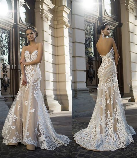 Wedding Dresses 2016 Cheap by 2016 Lace Mermaid Applique Ivory Wedding Dresses