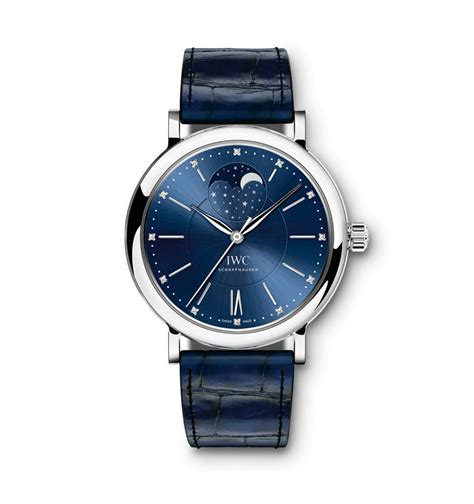 Iwc Scaffhause Blue T1310 3 iwc portofino automatic moon phase 37 limited edition most popular luxury watches