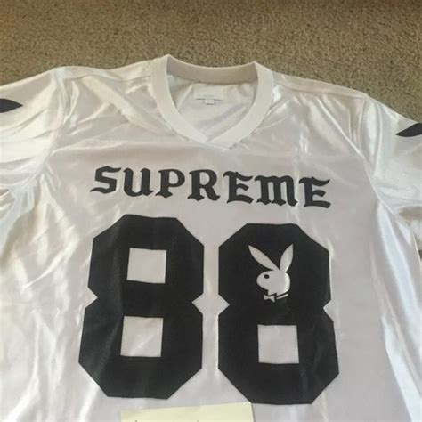 supreme play 20 supreme tops supreme play boy jersey new from