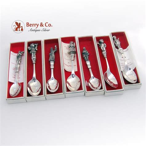 Carol Set spoons carol set of 7 reed and barton