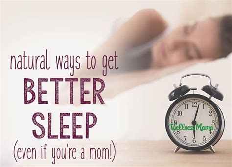 natural ways to sleep better how to improve your sleep naturally wellness mama