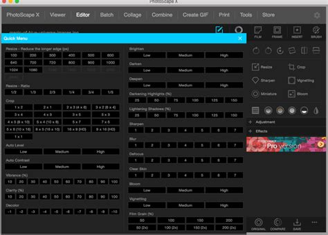 best free editor mac 20 best free mac photo editor software