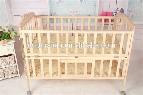 Quality Cribs by Quality Baby Bed Adjustable Moveable Folding Wood