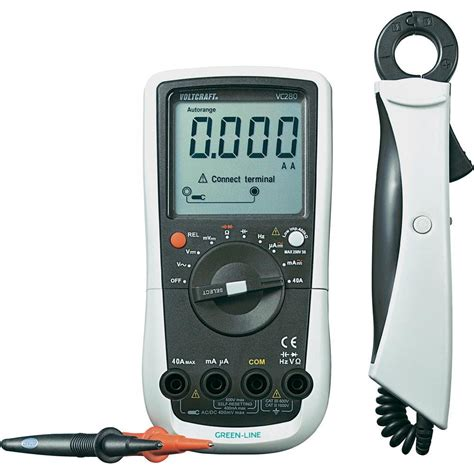 multimeter stromzange digital voltcraft vc280