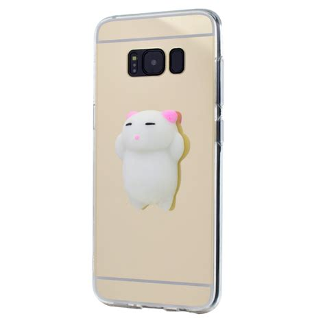 Terbaru Casing Cat Squishy Casing For Samsung Galaxy S7 for samsung galaxy phone squishy cat mirror soft tpu rubber cover skin ebay