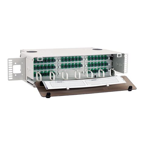 Ls Cable Modular Patch Cord Plate Dan Accessories lightlink lansystem 174 3ru fiber termination patch panel