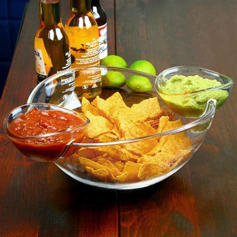 Bowl Side Nachos by Chip And Dip Dish Nacho Bowl Dip Dish