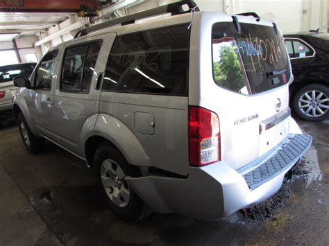 2008 nissan pathfinder parts parting out 2008 nissan pathfinder stock 140286 tom