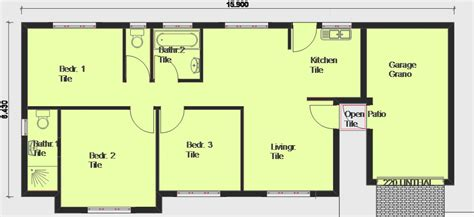 sample 2 bedroom house plans