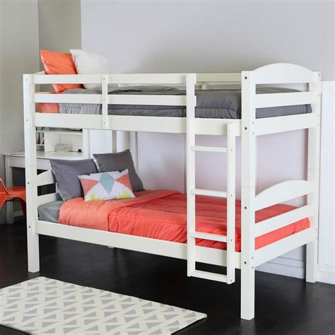 white wooden bunk beds 15 ideas of loft bunk beds for kids