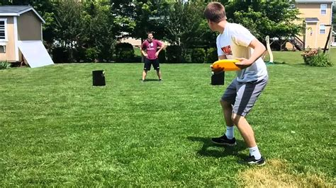 dude perfect backyard backyard dude not perfect frisbee edition youtube