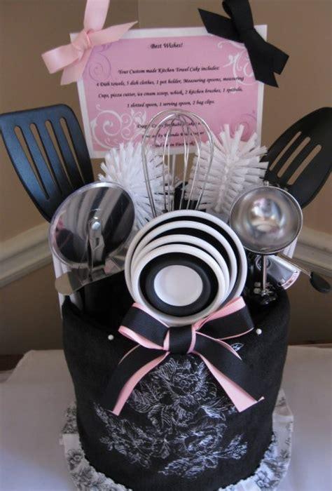 kitchen towel cake bridal shower gift gift ideas make quot kitchen towel cake quot super cute bridal shower gift idea