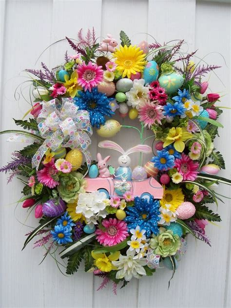 easter wreath i love easter wreaths simply sweet home