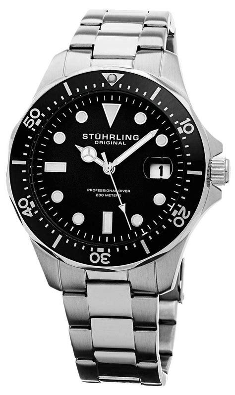 Stuhrling Original Regatta Quartz Divers 200M 824.01 Mens