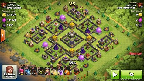 th9 home base layout nine lives marvelous th9 de protection base layout