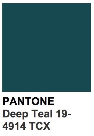 Pantone Green Colors