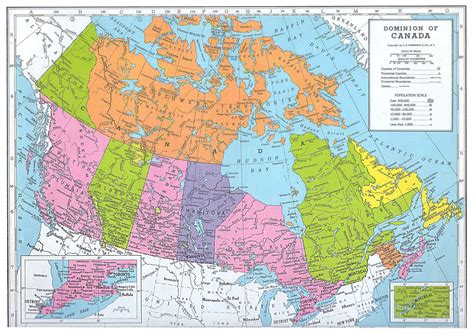 map of canada 1 10 scale model