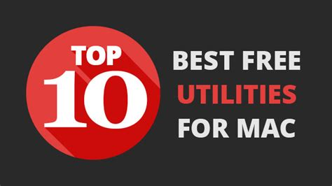 best free utilities top 10 best free utilities for mac nektony