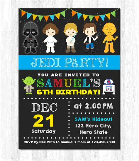 printable invitations star wars 21 star wars birthday invitation template free sle