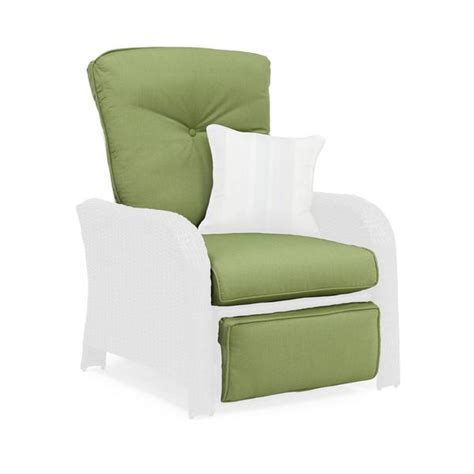 Recliner Cushions by Sawyer Patio Recliner Replacement Cushion Cilantro Green