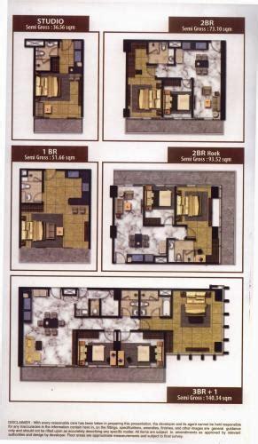 denah layout spa denah kuningan city jual apartemen murah
