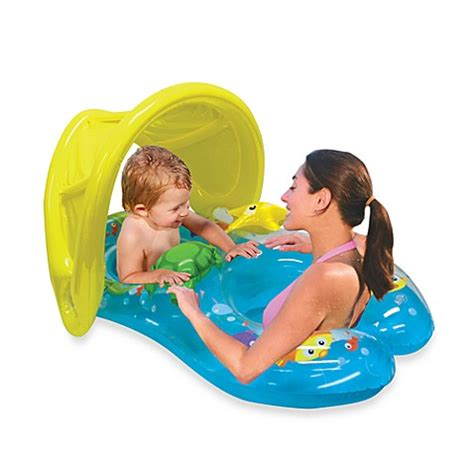 baby pool seat with shade me sun shade baby float bed bath beyond