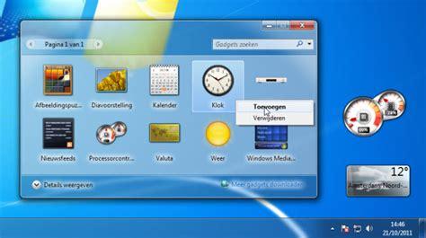 Die Besten Gadgets Für Windows 7 by Leuke En Nuttige Gadgets Voor Windows 7