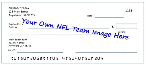 Dallas Background Check Order Dallas Cowboys Checks Nfl Football Personal Bank Check Designs