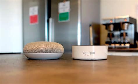 google home mini vs amazon echo dot which is better digital google home mini vs amazon echo dot maison et domotique