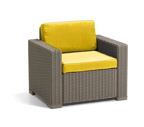 armchair pads cushion pads for keter allibert california rattan garden