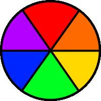 simple color wheel colors for familyfuncoloring