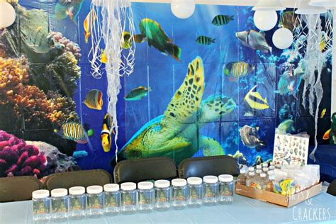 the sea theme decorations themed birthday theme